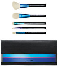 MAC COSMETICS ENCHANTED 5 PCS EYE BRUSH KIT ESSENTIAL NEW IN BOX