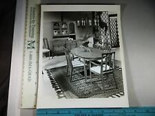Rare Historical Original VTG Basic Witz Furniture Ind Basicourte Showroom Photo