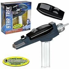 Star Trek TOS PHASER - White Hand+ Light + Sound - TOS original