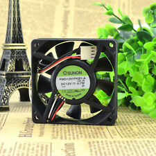 SUNON PMD1207PKB1-A Dual ball bearing cooling fan 12V 4.7W 70*70*20MM 3pin