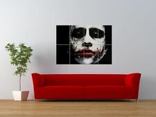 WM JOKER HEATH LEDGER BATMAN VILLAIN GIANT ART PRINT PANEL POSTER NOR0568