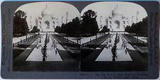 Keystone Stereoview of THE TAJ MAHAL at Agra, INDIA from the 1920's 200 Card Set