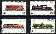 INDIA 1976, Locomotives-Railway-Train-Set of 4, S.G. 806-809, Mint Never Hinged