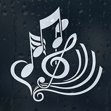 Treble Clef Car Graphic Decal Vinyl Adhesive Classic Music Notes Sticker