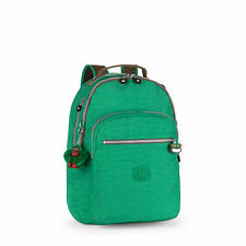 BNWT Kipling CLAS Seoul Laptop Backpack MOJITO GREEN C SPF2016 RRP £84