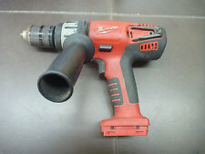 "MILWAUKEE 1/2"" 28 VOLT HAMMER DRILL SKIN ONLY BID NOW NO RESERVE V28"