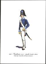 STAMPA UNIFORMI STORICHE - CARABINIERE A. P. - PICCOLA TENUTA ESTIVA - 1814