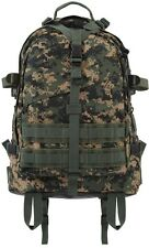 LARGE WOODLAND DIG Military Style Medical Transport MOLLE Assault Back pack 7687