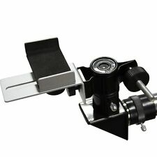 New! Universal Mobile Phone Clamp Holder Connect to Telescope Microscope+Track Y