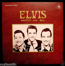 ELVIS PRESLEY-ELVIS SCOTTY and BILL-THE FIRST YEAR w/Bonus Book-GOLDEN EDITIONS