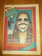 RECORD MIRROR MAY 30 1981 STEVIE WONDER UB40 HUMAN LEAGUE ADAM AND THE ANTS