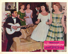 horsemasters original lobby card Annette Funicello Tommy Kirk singing