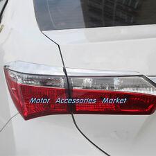 New Chrome Rear Light Trim For Toyota Corolla 2014 2015 2016
