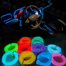 Orange Colour 5 Meter Interior Refit Car Styling EL wire light for Honda
