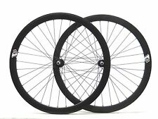 700c Origin 8 Fixed Gear Wheelset Fixie, Laced in the USA Black