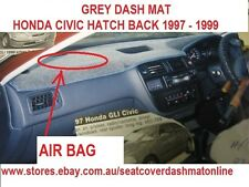 DASH MAT, GREY DASHMAT  FIT HONDA CIVIC 1997-1999 PASSENGER SIDE AIR BAG, GREY