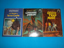 Lot of 3 Alfred Hitchcock The Three Investogators PB Books The Coughing Dragon +