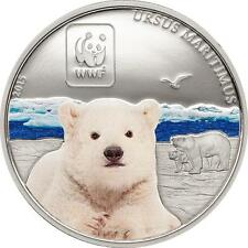 Polar Bear 2015 Central African Rep. - World Wildlife Fund Proof-like
