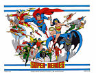 DC SUPER HEROES - JUSTICE LEAGUE of AMERICA PRINT