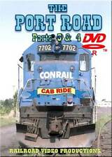 Conrail Port Road Cab Ride Parts 3 & 4 DVD NEW SD40-2 Holtwood Dam to Perryville