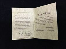 WDCC Disney Your Key To Enchanted Places Briar Rose Card
