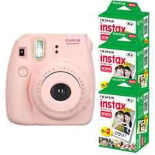 Fuji Fujifilm instax mini 8 Instant Pink (Girl) Instant Film Camera + 60 Prints