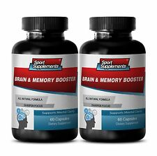 St. John's Wort Extract - Brain & Memory Booster 777mg - Mental Clarity Caps 2B