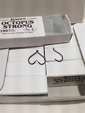 Raven Octopus Hooks, Size 10, 100 Ct Box