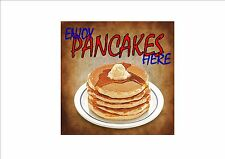 American Vintage Style Diner Sign Cafe Sign Pancakes Retro Style  Kitchen Sign