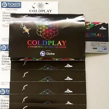 COLDPLAY Platinum Manila Concert Tickets - A Head Full of Dreams Tour