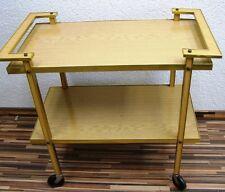 Alter Servierwagen, Kult Retro Design, 60er Jahre Rockabilly Teewagen Barwagen