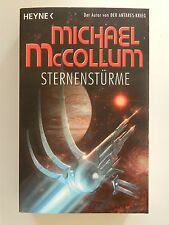 Michael McCollum Sternenstürme Roman Science Fiction Heyne Verlag