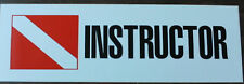 Scuba Diving Bumper Sticker Instuctor DS88