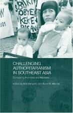 Challenging Authoritarianism in Southeast Asia: Comparing Indonesia an-ExLibrary