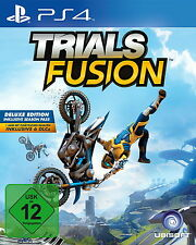 Trials Fusion -- Deluxe Edition (Sony PlayStation 4, 2014, DVD-Box)