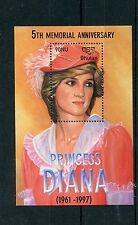 Bhutan 2003 MNH Princess Diana of Wales 5th Memorial Anniv 1v S/S Royalty Stamps