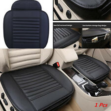 1X Leather Breathable Soft Car Seat Chair Cover Pad Protect Mat Bamboo Charcoal
