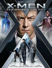 X-Men: Beginnings Trilogy (Blu-ray Disc + Digital HD 2016, 3-Disc Set) -NEW-