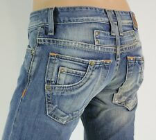 100% BRAND NEW MEN'S ROBIN'S JEAN SIZE 30 MOTORCYCLE BLUE INSEAM 34 BOOT CUT
