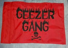 Custom GEEZER GANG Safety Flag 4 offroad jeep ATV Bike Dune Whip Pole
