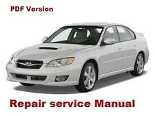 SUBARU LEGACY 2004- 2009 OFFICIAL FACTORY SERVICE REPAIR MANUAL PDF FAST SEND