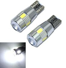ERROR FREE T10 CAR 6 LED PROJECTOR LENS PARKING LED BULB