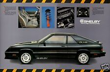 1987 Dodge CHARGER SHELBY 2.2, Refrigerator Magnet, 40 MIL