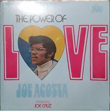 REISSUE salsa LP JOE ACOSTA The power of love INTRODUCING JOE ACOSTA color vinyl
