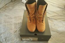 Timberland W/ Ortholite Wheat Nubuck Leather Wedge Heel Women's Boots/Shoes 8.5M