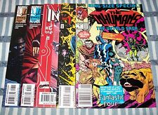 Lot of 5 Inhumans comics Mixed Series from 1990 up Movie Medusa & Black Bolt