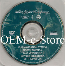 2006 2007 Ford Explorer Freestyle Mountaineer Montego Navigation DVD Map 3P