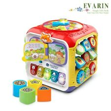 Activity Center Cube Kids Child Toddler Learning Toy Music Development Education