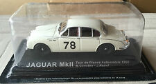 "DIE CAST "" JAGUAR MkII TOUR DE FRANCE AUTOMOBILE - 1960 "" RALLY DEA SCALA 1/43"