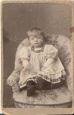 CDV photo Niedliches kleines Kind - 1900er